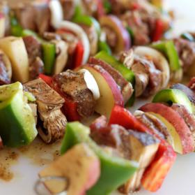 lamb meat kabobs